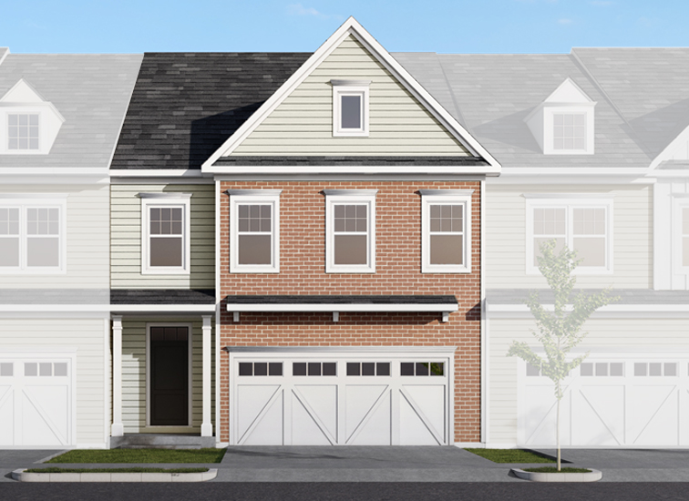 Image of the Stanton townhome